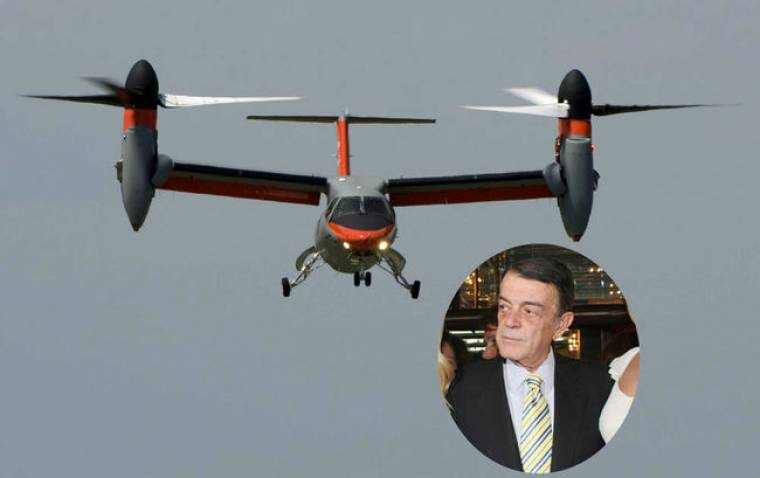 Το εντυπωσιακό ελικόπτερο του Κυριακού
