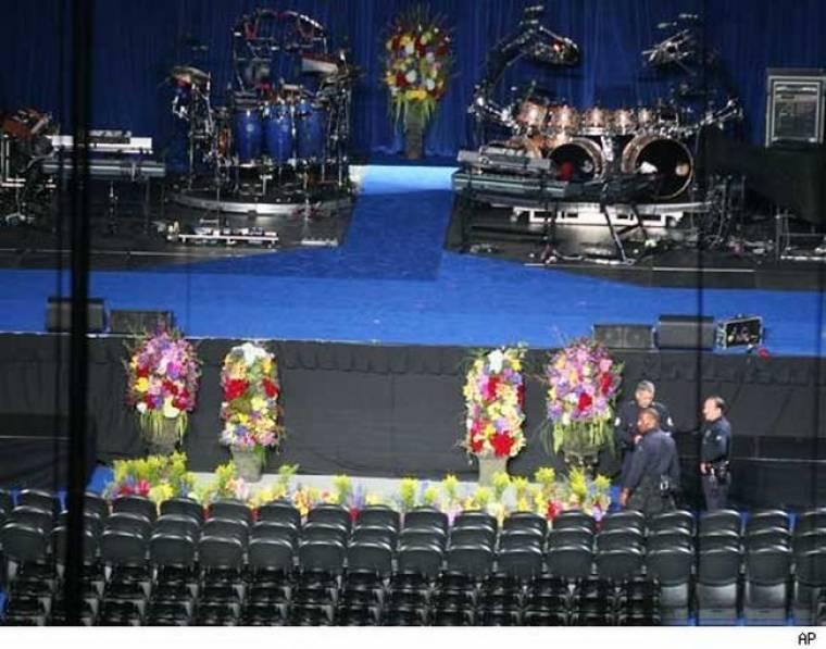 Οι πρώτες εικόνες από το Staples Center