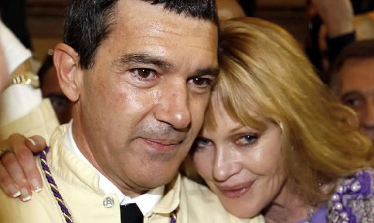 Antonio Banderas: Είμαι περήφανος για τη Melanie