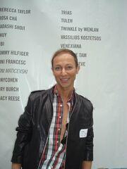 Ο Κωστέτσος στο Fashion Week της Νέας Υόρκης