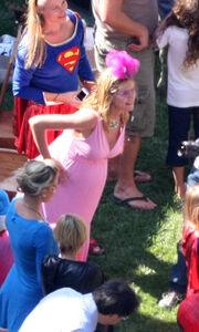 Πάρτι υπερηρώων για την Heidi Klum