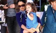 Salma Hayek: Βόλτα με την κόρη της
