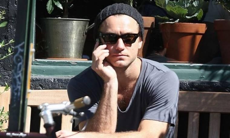 Οι ημέρες του Jude Law στη Νέα Υόρκη