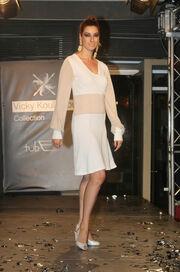Η σχεδιάστρια μόδας Βίκυ Κουλιανού