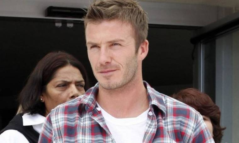 Και γκόλφερ ο David Beckham