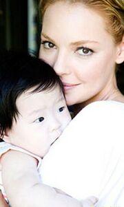 Το μωρό της Katherine Heigl