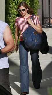 H Eva Mendes καθημερινά στο γυμναστήριο