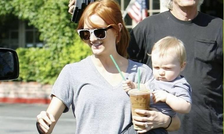 Η Ashlee Simpson και ο γιος της