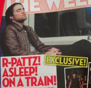 Όταν ο Robert Pattinson κοιμάται…