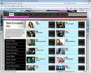 Ψηφίστε την Παπαρίζου στα MTV European Awards!
