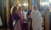 Η Μαίρη Αρκιβοπούλου βάφτισε την κόρη της