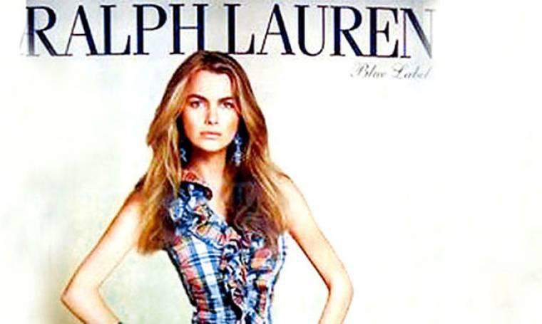 Ο  Ralph Lauren απέλυσε μοντέλο επειδή είχε παχύνει...