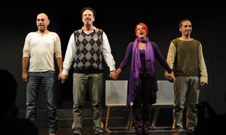 Η θεατρική πρεμιέρα του Χάρη Ρώμα και της 'παρέας' του