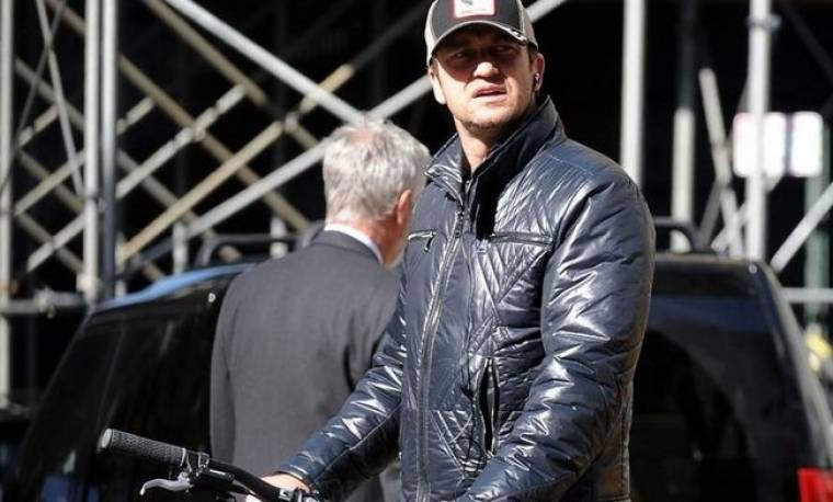 Ο ποδηλάτης Gerard Butler