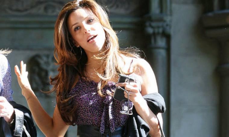 Eva Longoria: Βόλτα για φαγητό