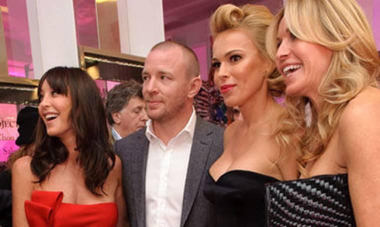 Ο Guy Richie και τα κορίτσια του