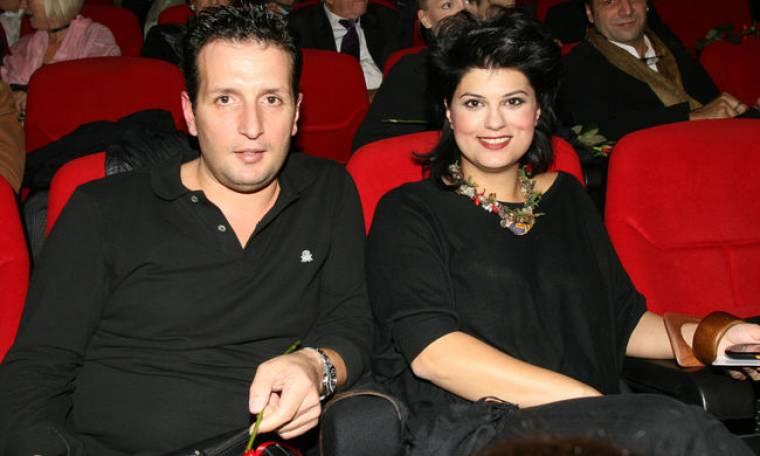 Δημήτρης Μπάσης: Πρώτη δημόσια εμφάνιση με τη σύζυγό του
