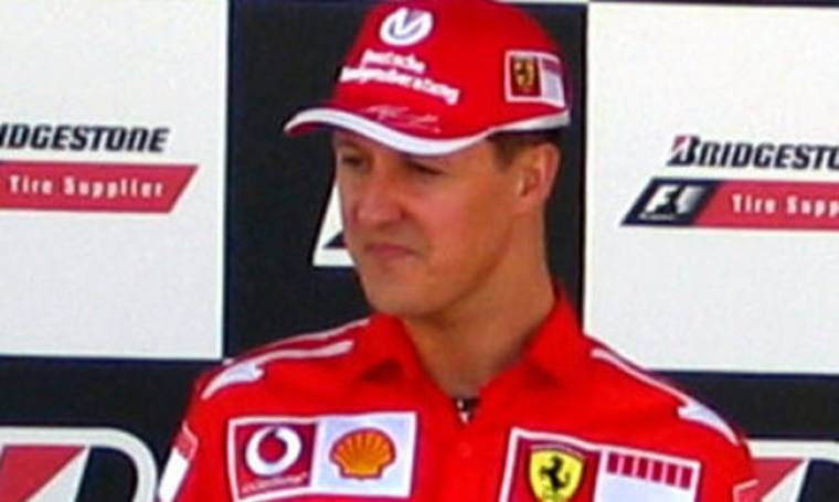 Ο Schumacher σε διαφημιστικό για την ασφαλή οδήγηση