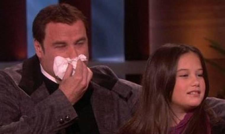 Τα δάκρυα του John Travolta στο σόου της Ellen