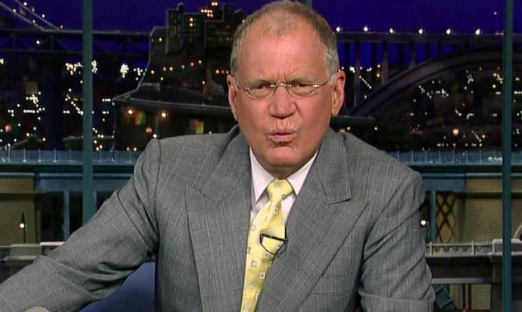 Εκτός σπιτιού ο David Letterman