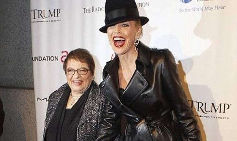 Η Sharon Stone στο γκαλά του Elton John