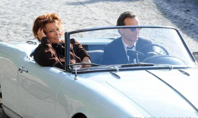 Η Sophia Loren για τον Daniel Day Lewis