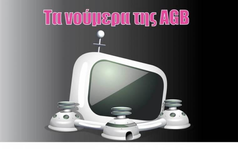Τα νούμερα της AGB για την Δευτέρα 23 - 11 - 2009