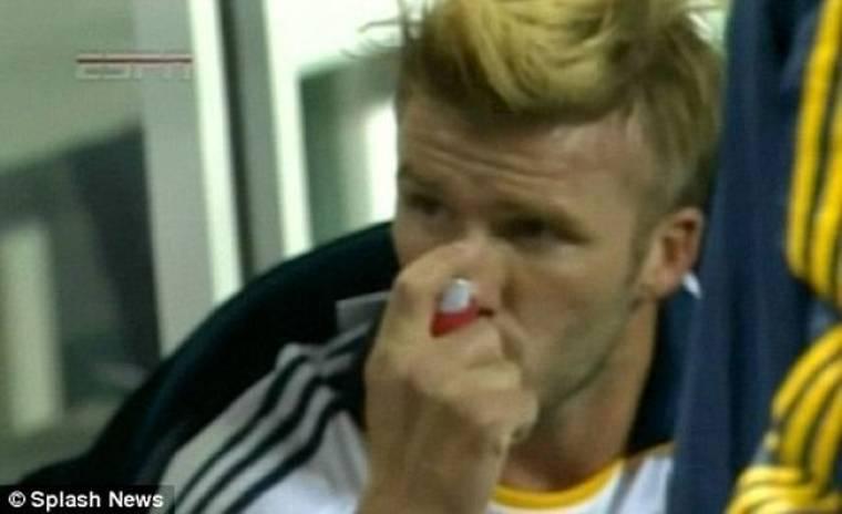 Ο  David Beckham υποφέρει από χρόνιο άσθμα