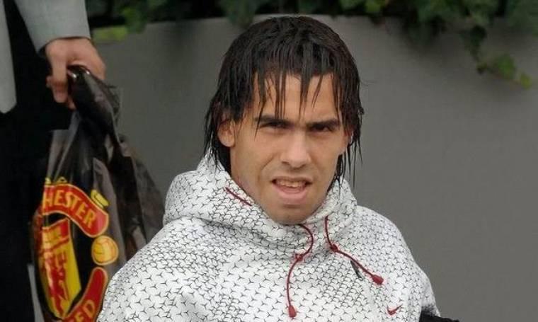Ο Carlos Tevez δοκίμασε να παίξει για λίγο τένις
