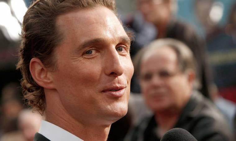 Ο McConaughey ξεκίνησε να το γιορτάζει από τώρα