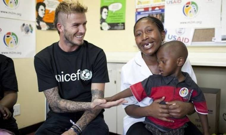 Επισκέφθηκε παιδιά που πάσχουν από AIDS