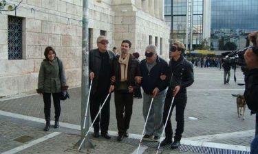 Τερζής, Κωνσταντάρας, Ασημακόπουλος στο πλευρό των τυφλών