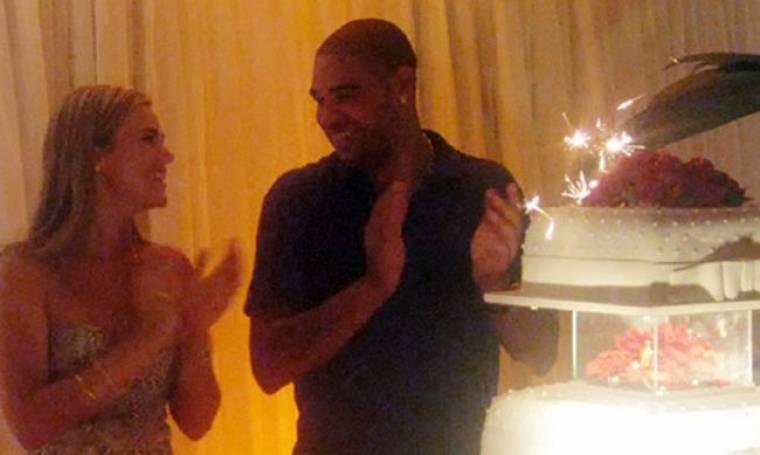 Το πάρτι έκπληξη του Adriano στην κοπέλα του
