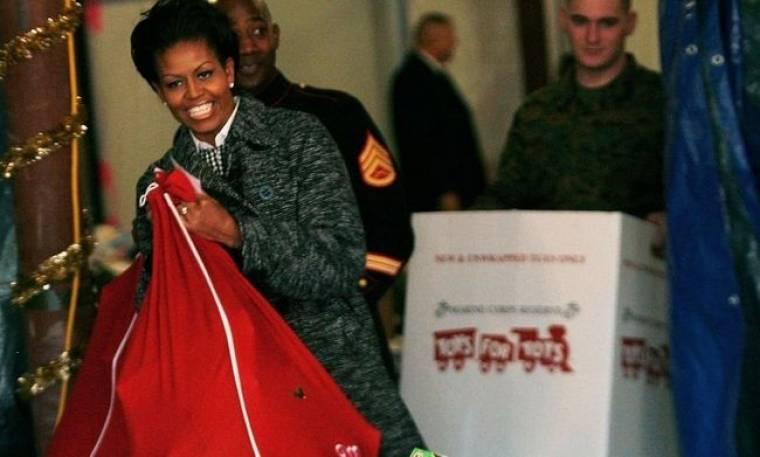 Άγιος Βασίλης, η Michelle Obama