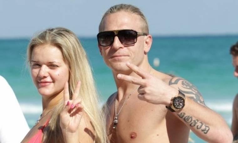 Οι διακοπές του Andriy Voronin με την οικογένειά του στο Miami