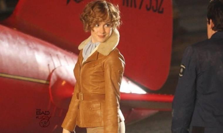 Amelia Earhart και η Amy Adams