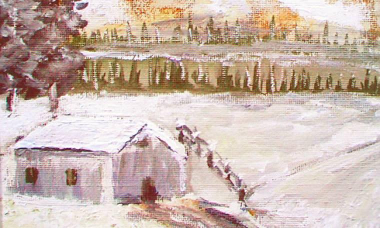Eκθέτει τα έργα του ο παλαίμαχος τερματοφύλακας του Παναθηναϊκού Οικονομόπουλος