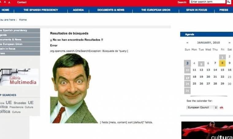 Ο Mr. Bean στην… Ισπανική προεδρία
