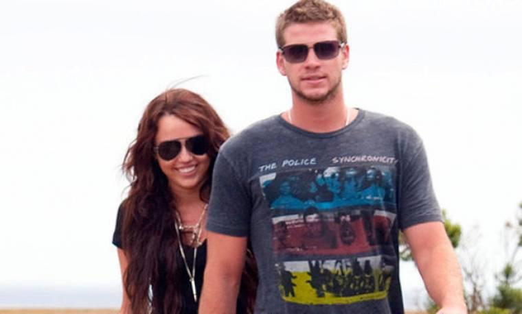 Στην Αυστραλία Cyrus και Hemsworth