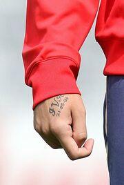 Τατουάζ με το όνομα της κοπέλας του χτύπησε ο Vedran Corluka