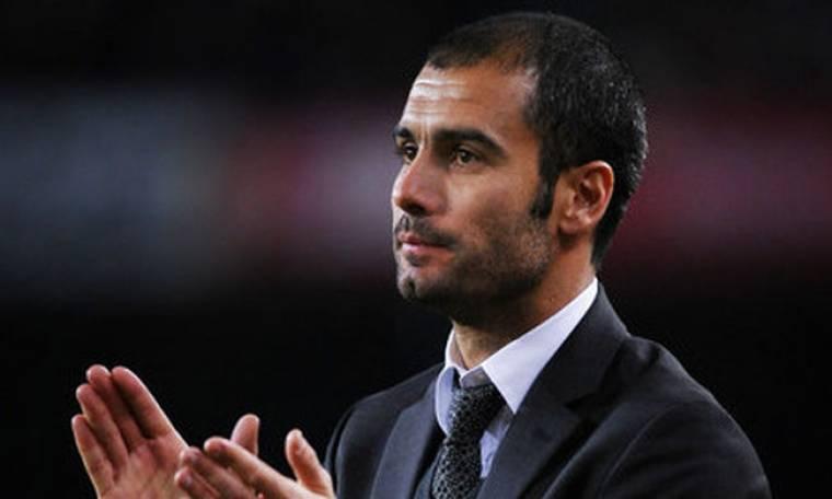 Ο Pep Guardiola ανακηρύχτηκε κορυφαίος προπονητής της χρονιάς