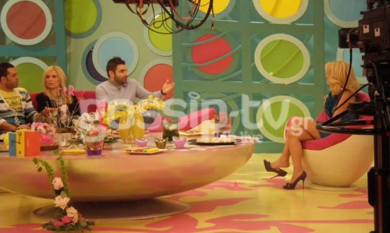 """Το backstage από τον """"Καφέ"""" της Ελένης Μενεγάκη"""