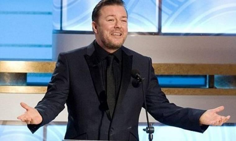 Τα αμέτρητα αστεία του Ricky Gervais