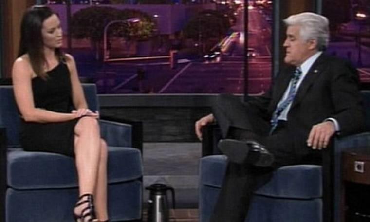 Η Emily Blunt στον Jay Leno