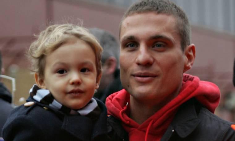 Ο γιος του Nemanja Vidic