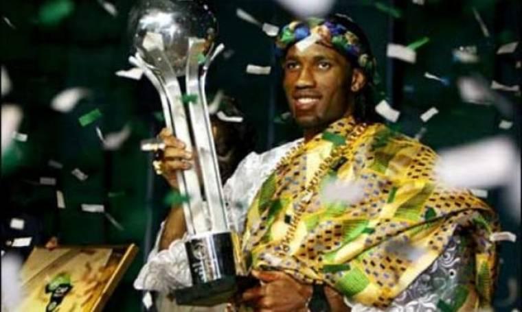 Didier Drogba: Κατέκτησε το βραβείο του καλύτερου Αφρικανού ποδοσφαιριστή