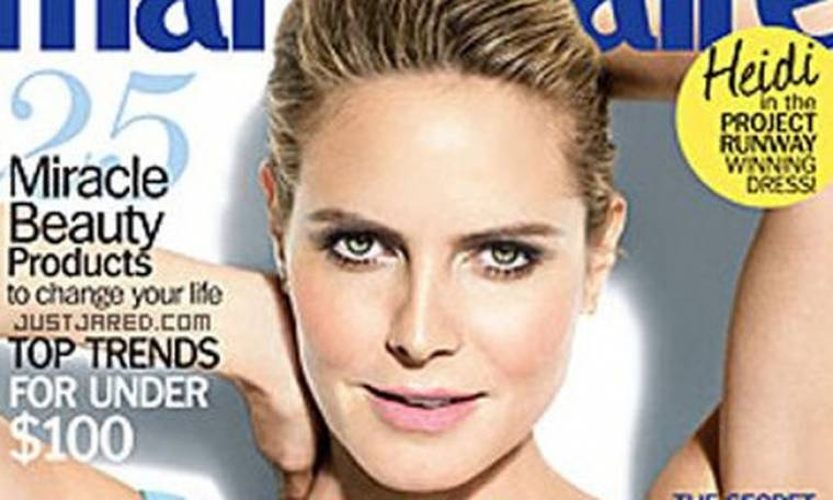 Η Heidi Klum στο «Marie Claire»