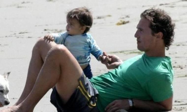 Matthew McConaughey: Ο γιος μου ξέρει καλύτερα πορτογαλικά από εμένα