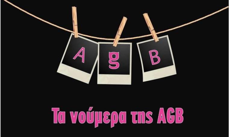 Τα νούμερα της AGB για την Δευτέρα 15-3-2010.