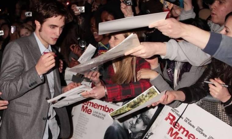Φρενίτιδα για τον Robert Pattinson